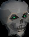 Skull ball detail