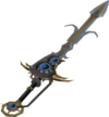 Augmented Saradomin godsword (passive) detail