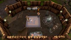 Pikkupstix's Summoning Shop interior