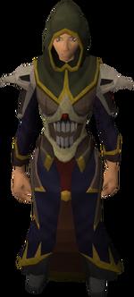Necromancer set equipped female
