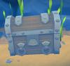 Treasure chest decoration built