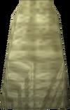 Cream robe bottoms detail