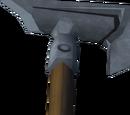Steel hatchet