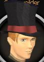 Top hat chathead