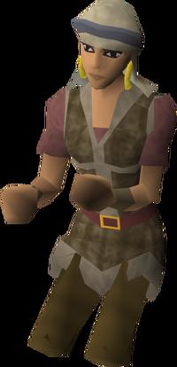Lead archaeologist Abigail