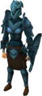 Rune armour set (sk) equipped