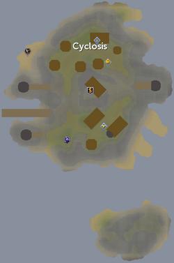 Cyclosis map