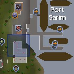Cap'n Hand location