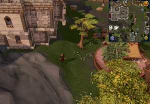 Compass clue Burthorpe south-east of Warriors' Guild