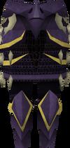 Dragonbone plateskirt detail