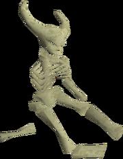 Thammaron's skeleton