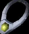 Opal necklace detail