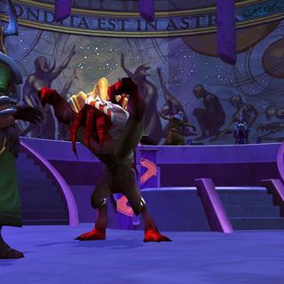 Ocellus e Auriculus tentam defender seu mestre.