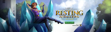 New Resting Animations head banner