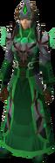 Guthixian war robes equipped