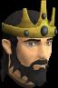 Monarch crown chathead