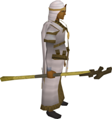 Bandos crozier equipped