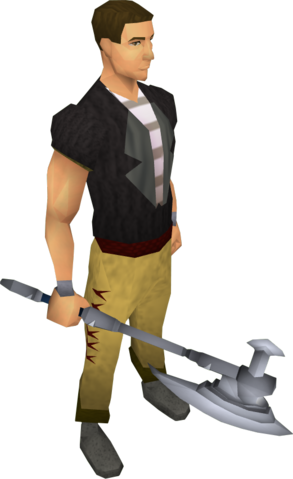 File:White battleaxe equipped.png