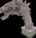 2012 Queen Black Dragon statue