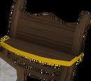 Gilded bench