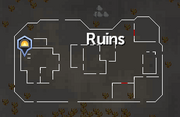 Ruins (east) map