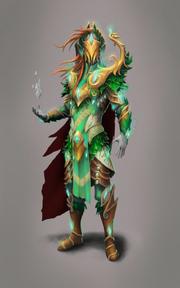 Iorwerth warrior concept art