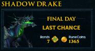 Shadow Drake lobby banner