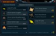 2014 Hallowe'en event rewards