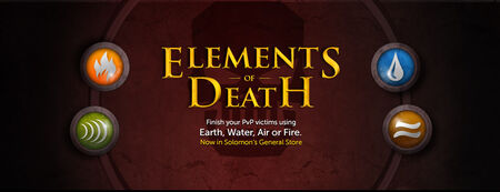 Elements of Death banner
