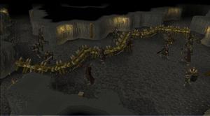 Kinshra Catacombs barricades
