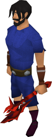 File:Off-hand dragon throwing axe equipped.png