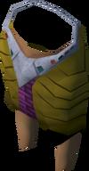 Pharaoh's shendyt (brown, female) detail
