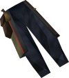 Colonist's trousers (orange) detail