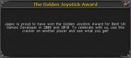 Golden cracker info