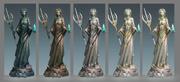 Seren god statue concept