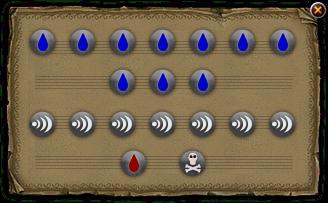 The Runes of Water Spells diagram