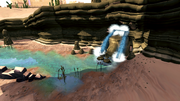 Water ravine dungeon entrance