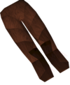 Werewolf legs (red, female) detail