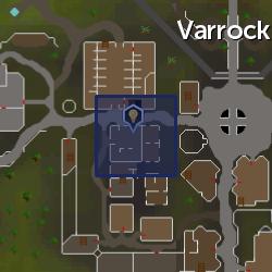 Inventor's workbench (Varrock) location