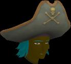 Captain Deathbeard's Hat chathead