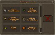 Random event gift interface