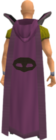Retro hooded thieving cape equipped