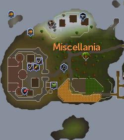 Miscellania map