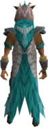 Skypouncer cape equipped