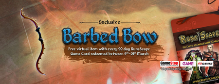 Barbed Bow Banner