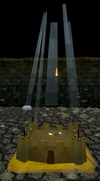 Beach loot beam 1