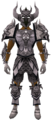 Malevolent armour set (Third Age) equipped.png