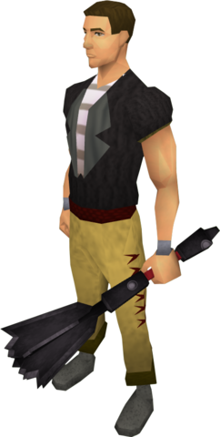 File:Off-hand black mace equipped.png