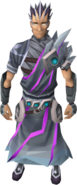 Stormheart armour equipped (male)