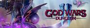 God Wars Dungeon 2 (Vindicta) lobby banner